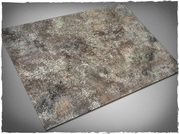 Game mat - Urban Ruins - Cloth, 4x6