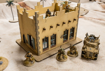 28mm Middle Eastern Building - 28MMDF095