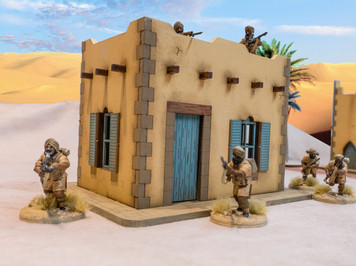 28mm Middle Eastern Building - 28MMDF090