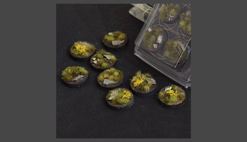 Battle Ready Bases - Highland Bases, Round 32mm (x8)