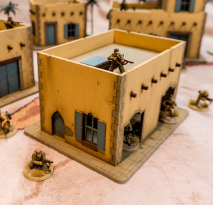 28mm Middle Eastern Building - 28MMDF094