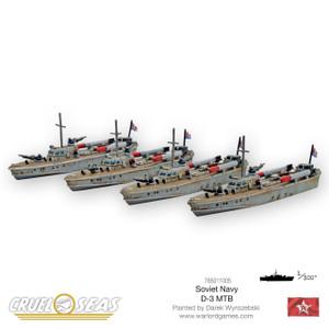 Cruel Seas: Soviet D-3 MTBs