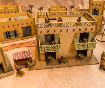 28mm Middle Eastern Building - 28MMDF097