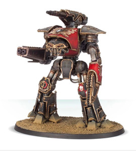 Adeptus Titanicus: Reaver Titan with Melta Cannon and Chainfist