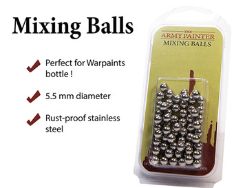 Paint Mixing Balls - Stainless Steel