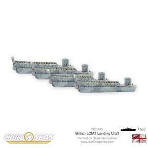 Cruel Seas: British LCM3 Landing Craft