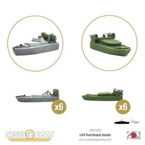 Cruel Seas: IJN Kamikaze Boats