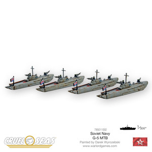 Cruel Seas: Soviet G-5 MTBs