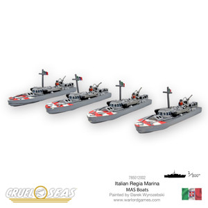 Cruel Seas: Italian MAS Boats