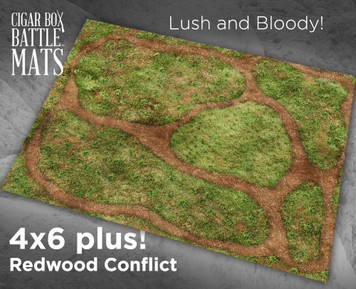 Battle Mat - Redwood Conflict (Perfect for Endor)