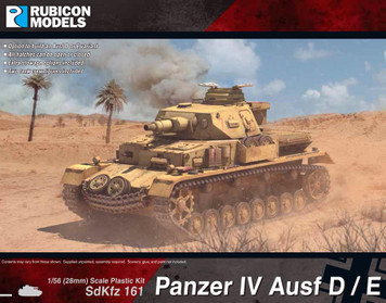 Rubicon Models Panzer IV Ausf D/E (1:56th scale / 28mm)