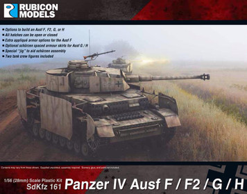 Rubicon Models Panzer IV Ausf F/F2/G/H (1:56th scale / 28mm)