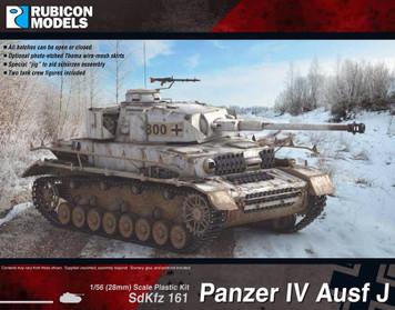 Rubicon Models Panzer IV Ausf J (1:56th scale / 28mm)