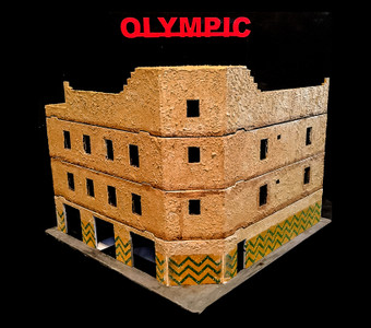 28mm Olympic Hotel from Blackhawk Down - 28MMDF102