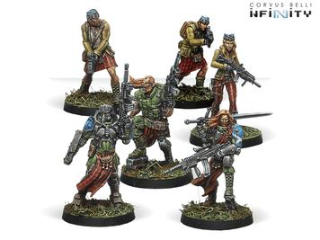 Infinity (#648) Ariadna: Caledonian Highlander Army