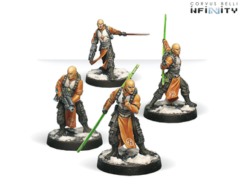Infinity (#035) Yu Jing Shaolin Warrior Monks (Combi Rifle,Chain Rifle) (4)