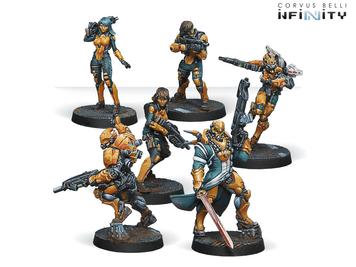 Infinity (#596) Yu Jing Army Starter Pack (6)