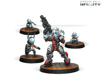 Infinity (#664) Nomads: Taskmaster, Bakunin SWAST Team (4)