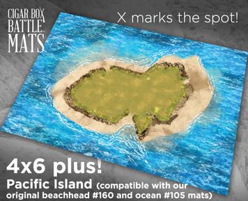 Battle Mat - Pacific Island