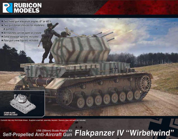 "Rubicon Models Flakpanzer IV ""Wirbelwind"" (1:56th scale / 28mm)"
