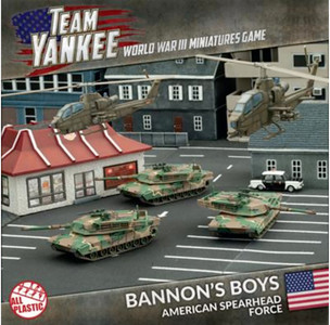 Team Yankee:  Bannons Boys (Plastic Army Deal)