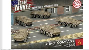 Team Yankee:  BTR-60 Company (x5 Plastic)