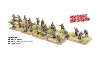 Team Yankee:  Motor Rifle Platoon (24 Figures, Plastic)