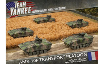Team Yankee:  AMX-10P Platoon (x5 plastic APCs)
