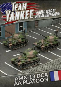 Team Yankee:  AMX-13 DCA AA Platoon (x3 vehicles)