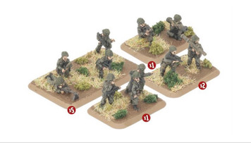 Team Yankee:  French Infantry Platoon (29 figures)