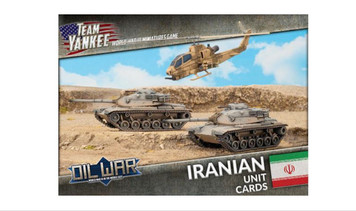 Team Yankee:  Iranian Unit Cards (x41 cards)