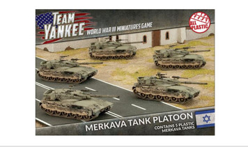 Team Yankee:  Merkava Tank Platoon