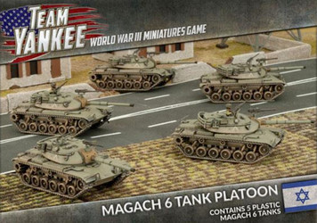 Team Yankee:  Magach 6 Platton