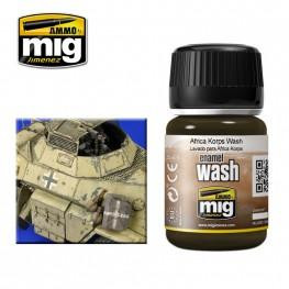 AMMO: Enamel Washes - Africa Korps (35ml)