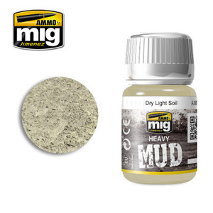 AMMO: Enamel Heavy Mud Texture - Dry Light Soil (35ml)