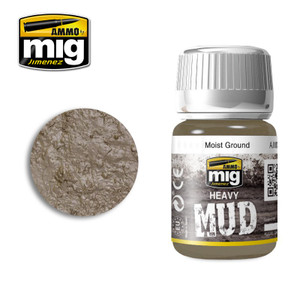 AMMO: Enamel Heavy Mud Texture - Moist Ground (35ml)