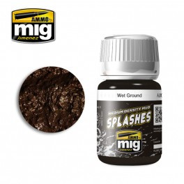AMMO: Enamel Splash/Medium Mud Texture - Wet Ground (35ml)