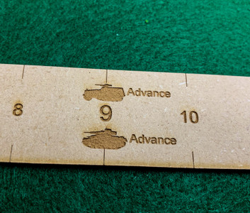 Bolt Action Measuring Sticks
