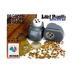 Miniature Leaf Punch GREY