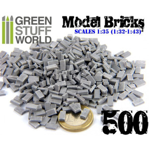 Model Bricks - Grey x500
