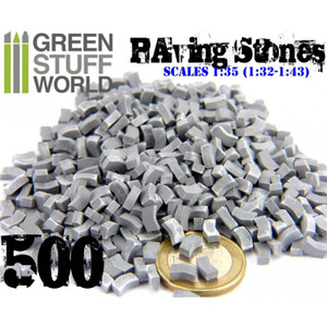 Model Paving Bricks - Grey x500