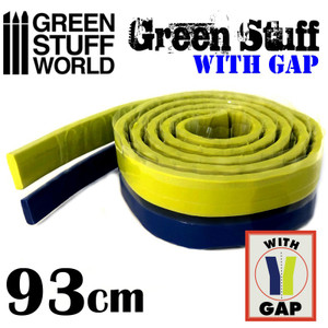 Green Stuff Tape 36.5 inches WITH GAP