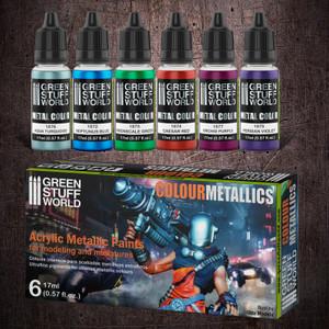 Metallic Paints Set - Colours