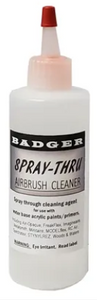 Badger Accessories: Spray-Thru Airbrush Cleaner (16oz)