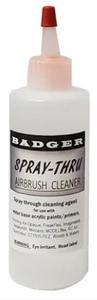 Badger Accessories: Spray-Thru Airbrush Cleaner (16oz)