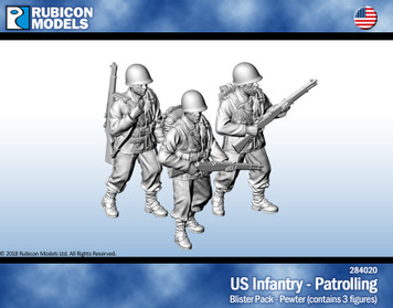 US Infantry Patrolling- Pewter
