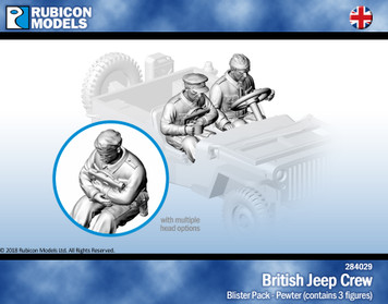 British Jeep Crew (Set 1)- Pewter