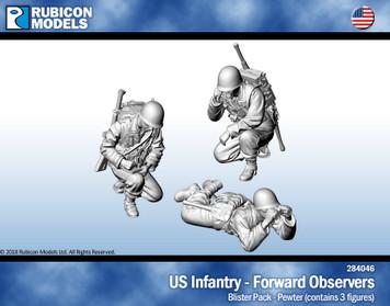 US Infantry Forward Observers Set 1- Pewter