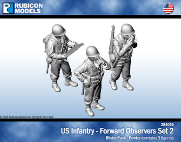 US Infantry Forward Observers Set 2- Pewter