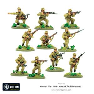 Bolt Action: North Korean KPA Rifle Squad